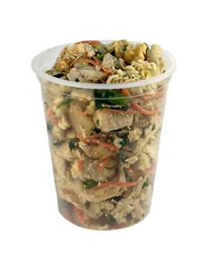 Empress 32oz Plastic Deli Container
