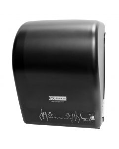 Towel Dispenser, Mechanical Dark Trans w/3xlogo