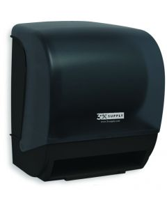 Black Auto Electric Hardroll Towel Dispenser