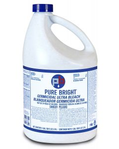KIK Custom Products Pure Bright Bleach 6% 1 Gallon 6 / cs