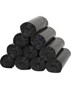 """Black HD Trash Liners 28""""x48"""" - 23gal - 22mic (150psc)"""