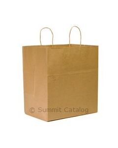 "Super Royal Kraft Bag 14""x10""x15.75"" 100% Recycle (200/cs)"