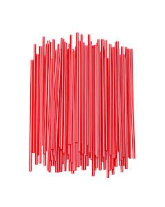 "Empress Stirrer Straws 5.25"" Red (10000/cs)"