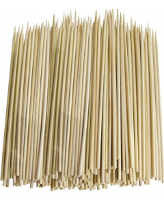 "6"" bamboo skewers (19,200/cs)"