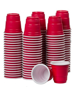 2oz mini Red Shot Cups (100ct)